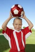 Mädchen Fußballmannschaft foto