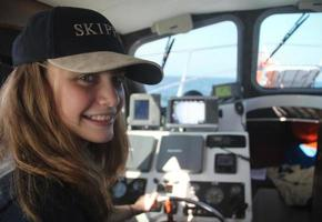 Teenager-Skipper