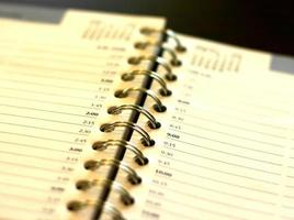 Terminkalender foto