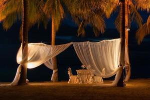 romantisches Abendessen foto