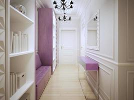 zeitgemäßes Korridor-Design foto