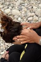 Nackenmassage foto