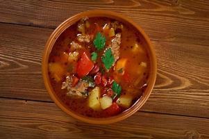 eintopf - traditionelles deutsches küchengericht. foto