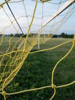 Fußball Netz foto