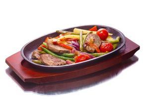 Rindfleisch mit Gemüse foto