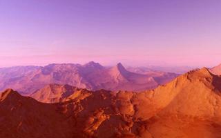 Mars wissenschaftliche Illustration foto