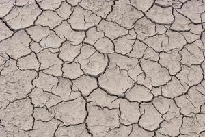 Boden in der Trockenzeit knacken foto