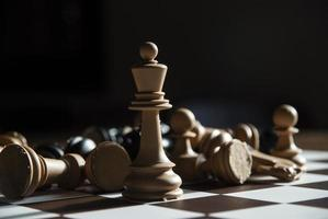 Schachspiel foto