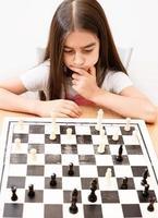 Schach spielen foto