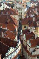 Prag durch die Augen der Vögel foto