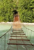 rostige Brücke foto