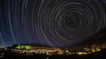Sternspuren foto