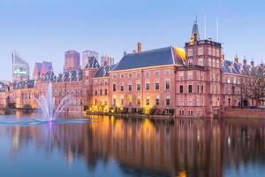 niederländisches parlament hague foto