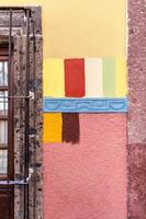 Farbpalettenoptionen für eine Wand foto