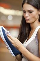 Schuhe wählen! foto
