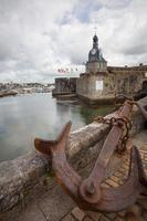Concarneau in der Abteilung Finistere in der Bretagne foto