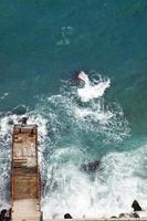 Küste des Schwarzen Meeres foto