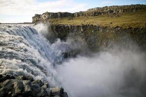Island Dettifoss Wasserfall foto