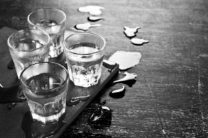 transparentes Getränk