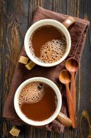 heißes Kakaogetränk
