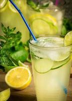 frisches Limonadengetränk foto