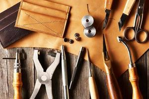 Lederhandwerkszeug