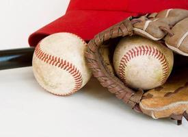 Baseballausrüstung isoliert-2 foto