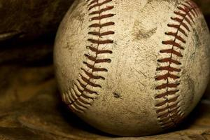 alter Baseball foto