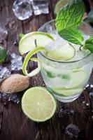 frisches Mojito-Getränk