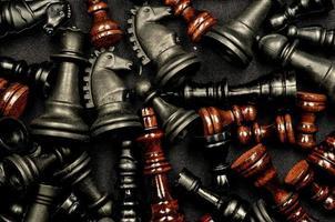 Schach Textur foto