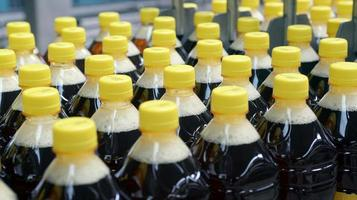 Getränk in Flaschen foto