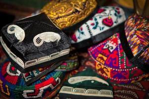 traditionelle islamische Hüte foto