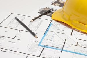 Architekten Blaupause