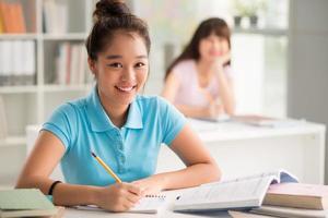 hübscher Student