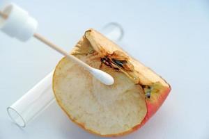 Apfeltest foto