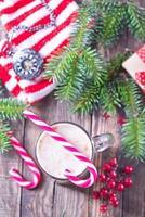 Weihnachtsgetränk foto