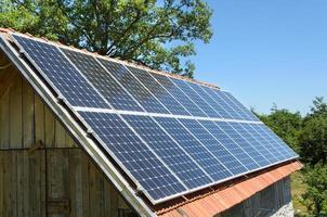 5 kW Solarpanel foto