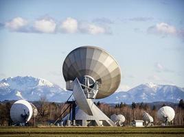 Satellitenschüssel foto