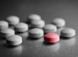 spezielle rote Pille foto