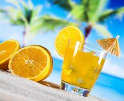 Orangencocktailgetränk foto