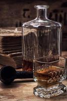 alkoholisches Getränk von Whisky foto