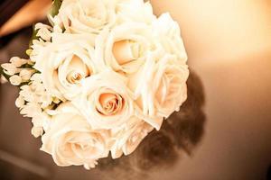 Blumenstrauß Hochzeitsfeier foto