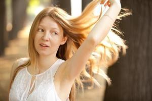 Schönheit junge Frau
