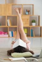 müde vom Lesen