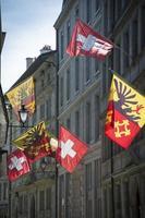 Genf Flaggen foto