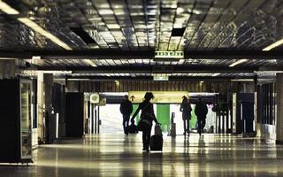 U-Bahn-Durchgang foto