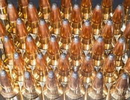 Munition mit Hintergrundbeleuchtung foto