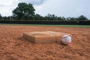 Baseball von der Basis foto