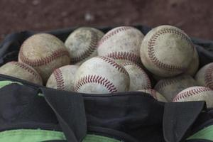 Baseball - Tasche näher foto