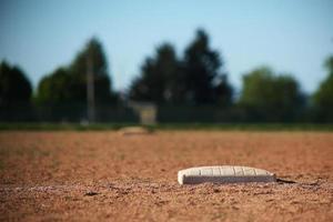 Softball-Basis foto